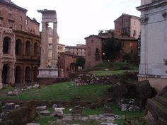 Rome, ancient ruins