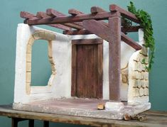 O Portal, Church Stage, Christmas Nativity Scene, Christmas Pictures, Holiday Crafts, Most Beautiful Pictures, Design Art, Diy And Crafts, Christmas Decorations