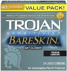 Trojan Condom Sensitivity Bareskin Lubricated, 24 Count  for more Detail visit our website: http://premiumhealthproducts.com/