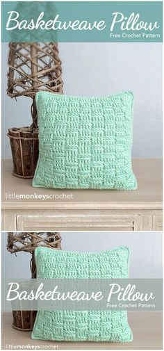 I have rounded up some cute and stunning free crochet pillow patterns for your inspiration. All of them are quite unique, interesting and super cute!Crocheted Throw Pillows