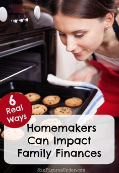 Homemakers often buy into the lie that they don't contribute financially. Sure, your spouse may have a tough job, work long hours, and bring home the bacon, but that doesn't mean he's flying solo when it comes to finances.