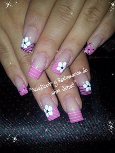 Uñas decoracion heiluz French Nail Designs, Short Nail Designs, Spring Nails, Summer Nails, Color Me Badd, Bunny Nails, Pink Nail Art, Dope Nails, Crazy Makeup