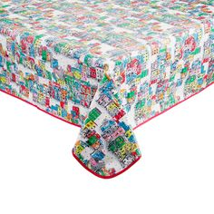 View All | Christmas House Placement PVC Coated Tablecloth | CathKidston