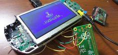 PSPi, hackea tu PSP con una Raspberry Pi Zero #raspberrypi
