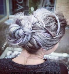 10 pretty Messy Updos for long hair  #messy #pretty #updos