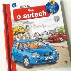 Vše o autech, z edice Už vím proč, Albatros. Super knížka pro kluky a možná i pro maminky:-) Jak auto jezdí? Jak funguje motor? Jak se auto vyrábí? #knihaprodeti #detskakniha #leporelo #uzvimproc #albatros #jiny_svet