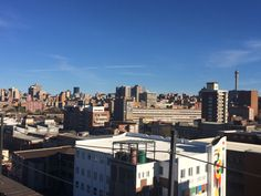Rooftop View of Joburg CBD/Hillbrow : Taken from Arts on Main (Maboneng) Rooftop, Maine, City, Cities