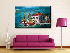 ΤΕΧΝΗ : Ψαράδικα στο λιμάνι | Digi Wall