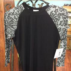 LuLaRoe Randy XXS LuLaRoe Randy Tee with 3/4 sleeves-NEW!! LuLaRoe Tops Tees - Long Sleeve