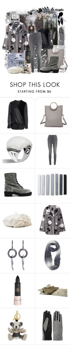 """White & Grey"" by jcmp ❤ liked on Polyvore featuring Tim Holtz, Urban Decay, Polaroid, rag & bone, John Hardy, J Brand, Coolway, Betmar, Liska and Paige Novick"