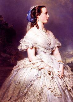 Franz Xaver Winterhalter - Marie Henriette of Austria, Queen of Belgium.