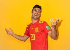 Asensio | Fotos oficiales de la Selección Española para el Mundial de Rusia | 08.06.2018