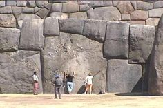 'Sacsayhuaman', Peru. How did they do this without mortar or the wheel?