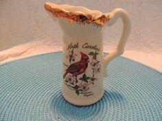 AACO North Carolina Souvenir Creamer D. by PurveyorsOfFineJunk