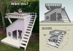 DIY Dog House Construction Plan DIY Projects | UsefulDIY.com