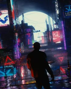 "RetroWave VR (@retrowavevr) en Instagram: ""Artist @nessgraphics Visit this artist profile for more amazing work! .…"" Cyberpunk Anime, Cyberpunk City, Cyberpunk Character, Futuristic City, Post Apocalyptic City, Sci Fi City, Building Information Modeling, Cyberpunk Aesthetic, Bonito"