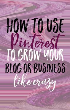 Pinterest is the number one tool most bloggers and entrepreneurs use to build their brands - take advantage of the platform with these tips! Join our community and discover the tactics, techniques and strategies for anyone starting, improving or growing an online business