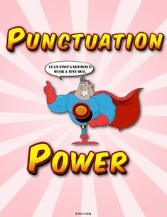 Shazam! Your students will love studying punctuation with these printable Punctuation Power Superhero Posters. This pack includes 7 superheroes with 2 versions of each poster! $3.00