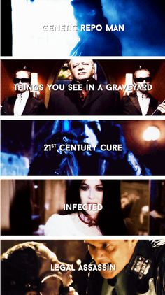 """Repo! The Genetic Opera"" songs"