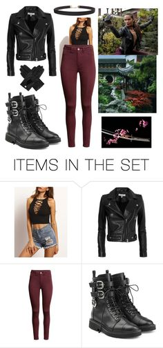 """Maze's Badass Outfit (Lucifer)"" by karenvallecillo ❤ liked on Polyvore featuring art"