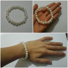 Pearl beded easy bracelet