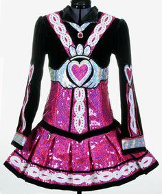 I think Celtic Art did this - the designer we used for Celine's dress. Love her stuff!