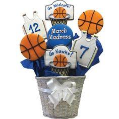 Basketball Cookie bouquet