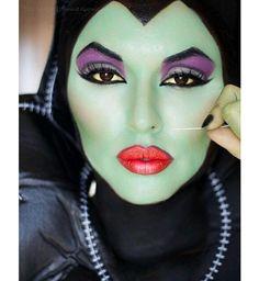 Maquillage d'Halloween : la méchante reine dans Blanche-Neige