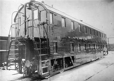 Two-decker railroad car. The development of railway business in Russia at the beginning of the 20th century raised the issue of increasing the carrying capacity of railways. It was necessary to transport huge masses of the population, first of all over the super long Trans-Siberian Railway, which, in conditions of limited length of trains and a noticeable price of rolling stock maintenance, required an increase in the capacity of wagons.