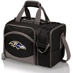 Picnic Time 'Malibu' Nfl Insulated Picnic Pack (145 CAD) ❤ liked on Polyvore featuring home, kitchen & dining, food storage containers, baltimore ravens, divided food storage containers, picnic cooler tote, picnic time cooler, picnic cooler and picnic time cooler tote