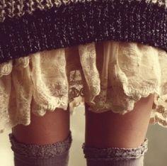 Pull jupon et guètres
