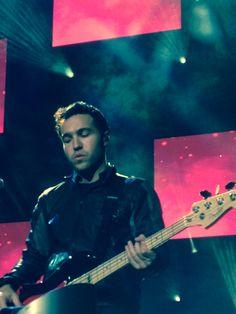 Pete Wentz; Fall Out Boy. 25/6/14