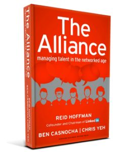 """The Alliance: Managing Talent in the Networked Age"""" by Chris Yeh, Reid Hoffman, Ben Casnocha"""" (already on page 97!)"""
