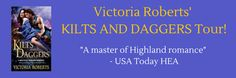 Romancebookworm's Reviews: KILTS AND DAGGERS by  VICTORIA ROBERTS   My Highla...
