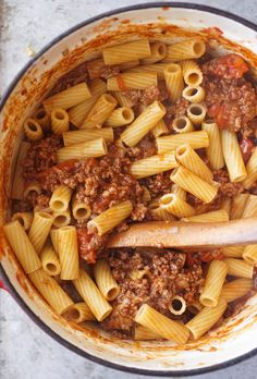 Ina Garten's Pastitsio Chef Recipes, Greek Recipes, Food Network Recipes, Italian Recipes, Dinner Recipes, Cooking Recipes, Healthy Recipes, Pasta Recipes, Wing Recipes