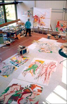 Hillary Butler {Fine Art}: Monday Mornings: Hot Artist Studio Spaces