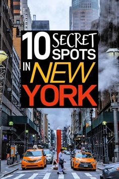 Here is a New York travel guide for you to get the most out of your New York trip! These 10 travel tips for New York will help you find secret spots that shouldnt be missed! - Travel New York - Ideas of Travel New York Ways To Travel, Places To Travel, Travel Destinations, Travel Tips, Places To Visit, Travel Articles, Travel Goals, New York Trip, New York Travel Guide