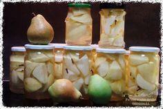 Hruškový kompot z trouby Root Cellar, Honeydew, Garlic, Dairy, Cheese, Vegetables, Fruit, Cooking, Breakfast