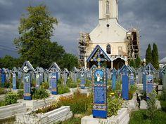 Merry Cemetery of Sapanta, Romania