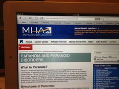 Paranoia & Paranoid Behaviors