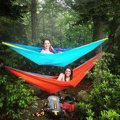 Nylon Camping Hammock #campinglocations