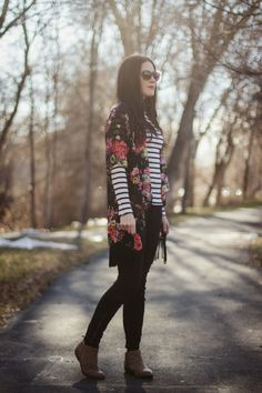 Carissa Miss: Fashion Friday: Floral and Stripes