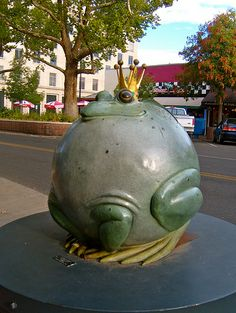 Puffed Up Prince by Gary Price by Easy Hiker, via Flickr. Art on the Corner in Downtown Grand Junction, CO.