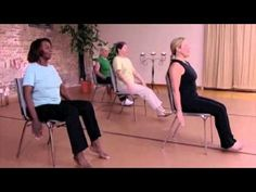 Stronger Seniors Core Fitness  - The 100-Chair Exercise Abdominals  Workout for Seniors