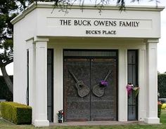 Buck Owens  Birth:  Aug. 12, 1929   Death:  Mar. 25, 2006    Country Music Singer, Composer, Entrepreneur.