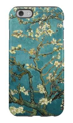 painting Wallpaper - Blossoming Almond Tree, famous post impressionism fine art oil painting by Vincent van Gogh ' iPhone Case by naturematters. Van Gogh Pinturas, Vincent Van Gogh, Van Gogh Wallpaper, Painting Wallpaper, Wallpaper Art Iphone, Japanese Wallpaper Iphone, Aot Wallpaper, Wallpaper Murals, Wallpaper Designs