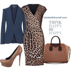 A fashion look from November 2014 featuring Roberto Cavalli dresses, Alexander McQueen blazers and Yves Saint Laurent pumps. Browse and shop related looks.