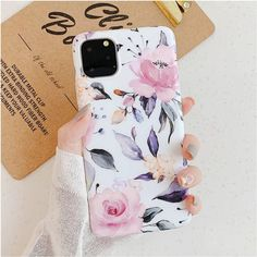 Brand Name: LACKRetail Package: YesType: Fitted CaseFeatures: Luxury Fashion Art Flowers Leaf Back Cover Capa Fundas CoqueFunction: Anti-knockFunction: Dirt-resistantCompatible Brand: Apple iPhonesCompatible iPhone Model: iPhone XSCompatible iPhon. Iphone 6, Apple Iphone, Coque Iphone, Iphone 7 Plus Cases, Iphone 11 Pro Case, Phone Case, Art Floral, Floral Design, Vintage Floral