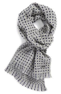 BOSS HUGO BOSS 'Forello' Wool Scarf; no pimping necessary, just get this.