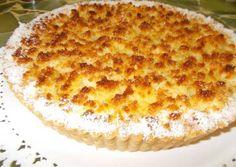 Tarta de coco y dulce de leche Coconut Tart, Pastry Recipes, Sin Gluten, Pound Cake, Vanilla Cake, Macaroni And Cheese, Pie, Baking, Ethnic Recipes